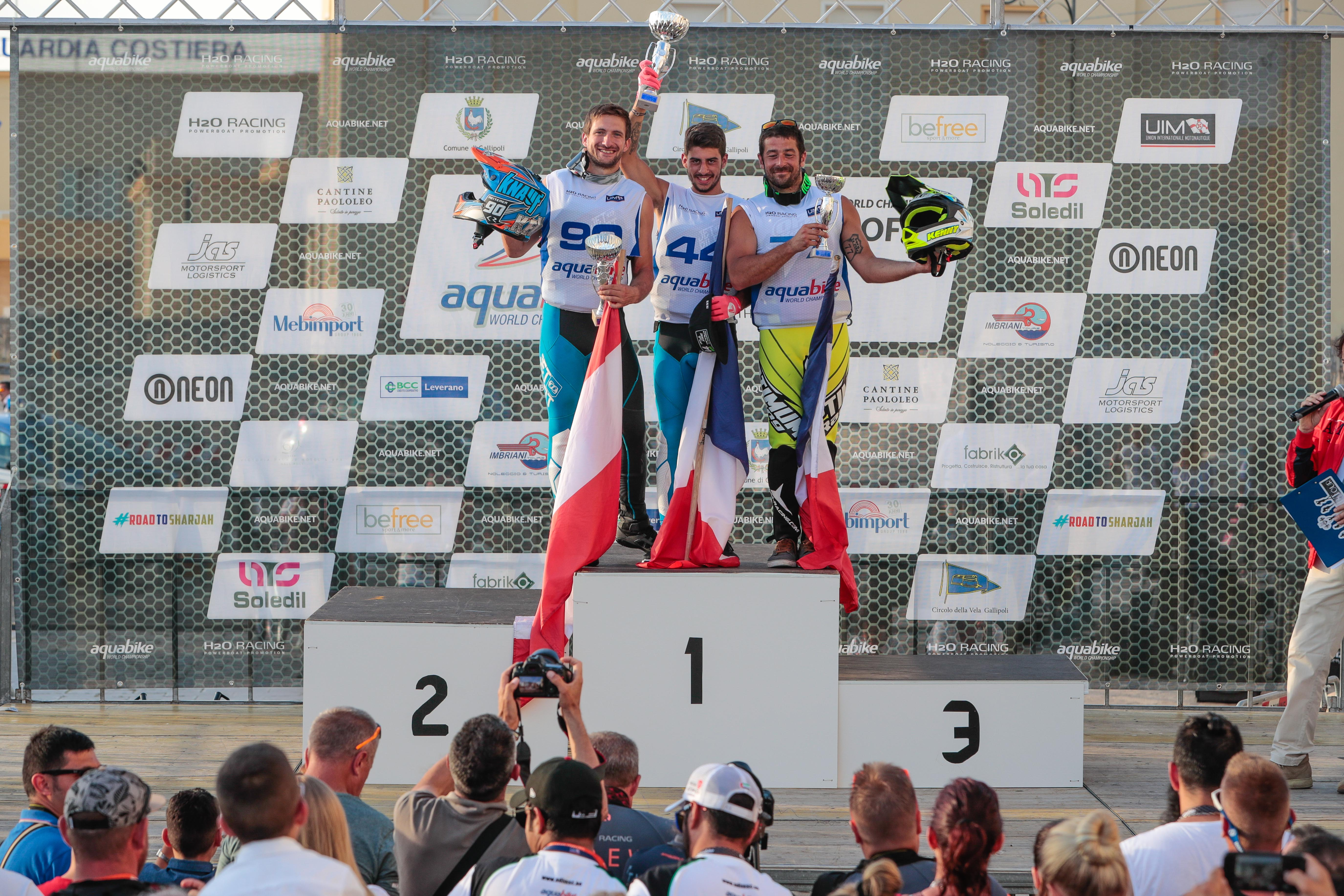 MOTO 2 VICTORY SEALS SKI GP1 GRAND PRIX TITLE FOR RAPHAEL MAURIN