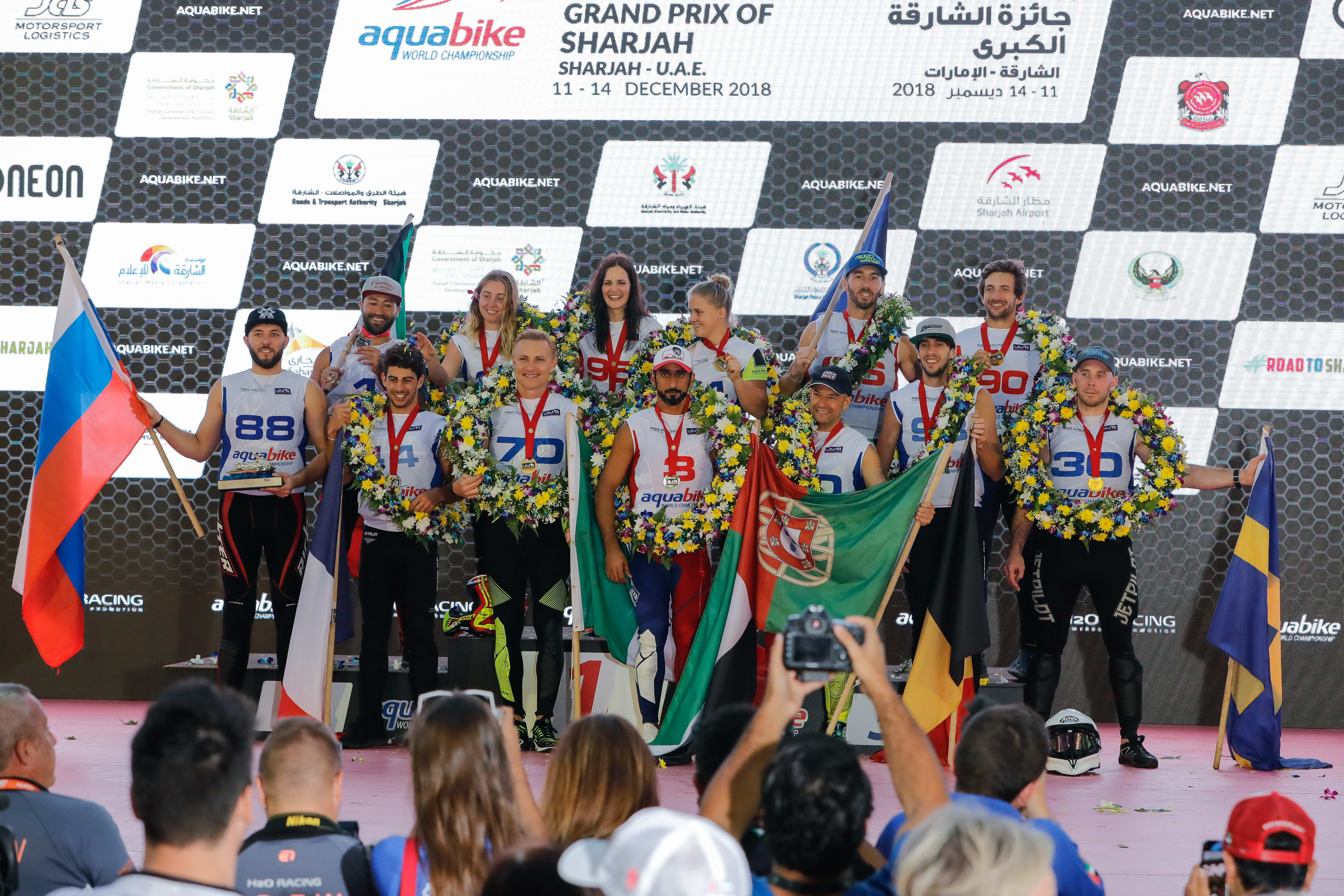 JEREMY PEREZ WINS WORLD CHAMPIONSHIP WITH OVERALL VICTORY IN SHARJAH GRAND PRIX IN RUNABOUT