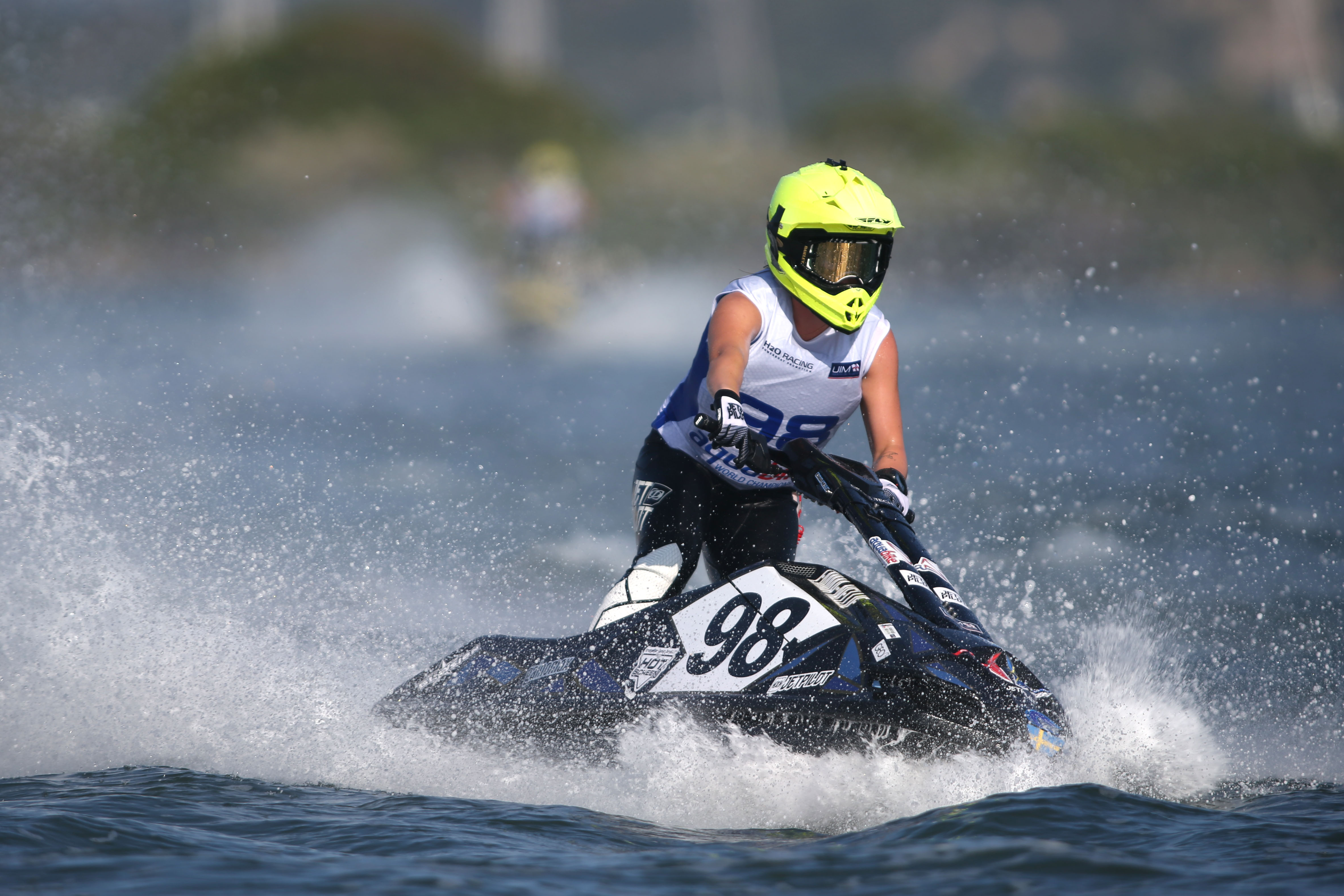 EMMA-NELLIE ORTENDAHL PRODUCES SENSATIONAL LAP TO TAKE POLE POSITION IN OLBIA