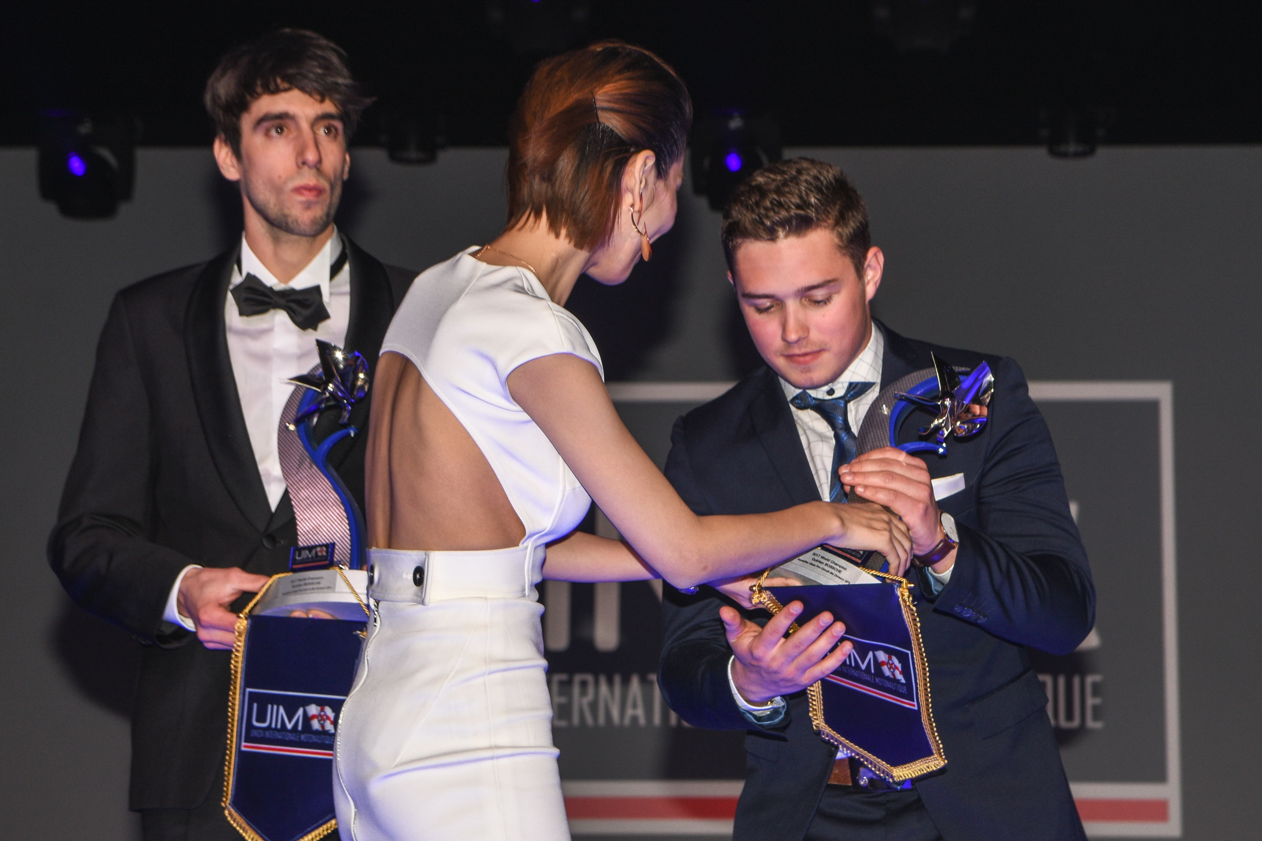 AQUABIKE'S STAR RIDERS OUT IN FORCE AT UIM GALA AWARDS IN MONACO