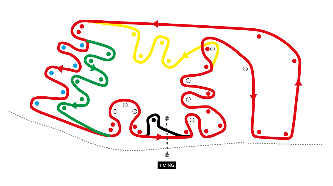 Grand Prix of Sharjah Race Map